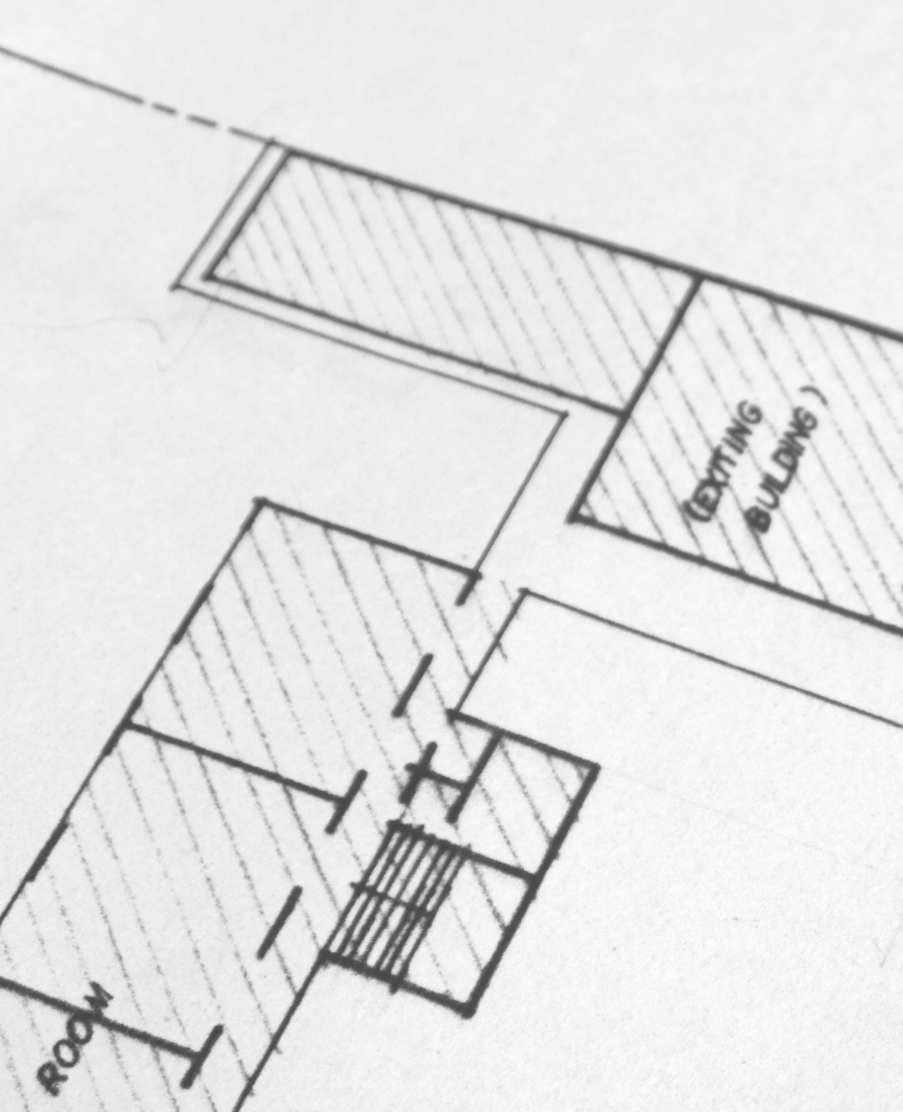 white plan of off the plan apartment